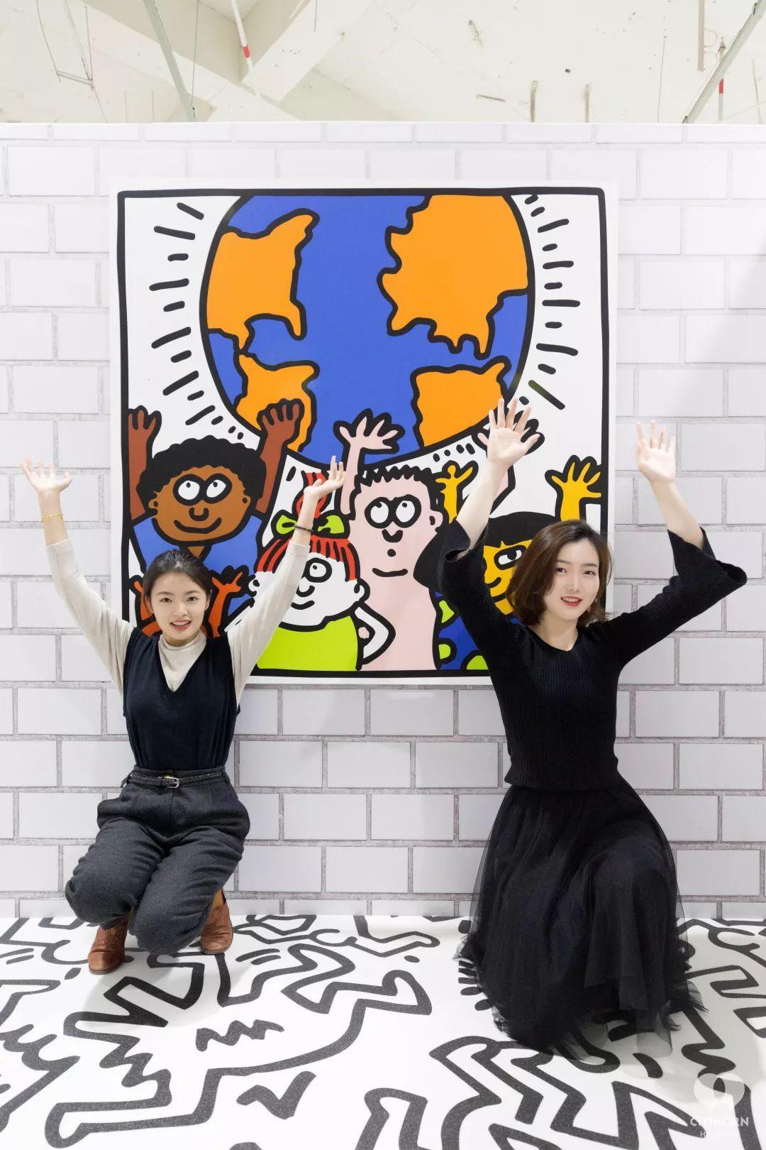 """大陆首展!涂鸦了全纽约墙的凯斯·哈林,终于""""涂""""到杭州了!(图34)"""
