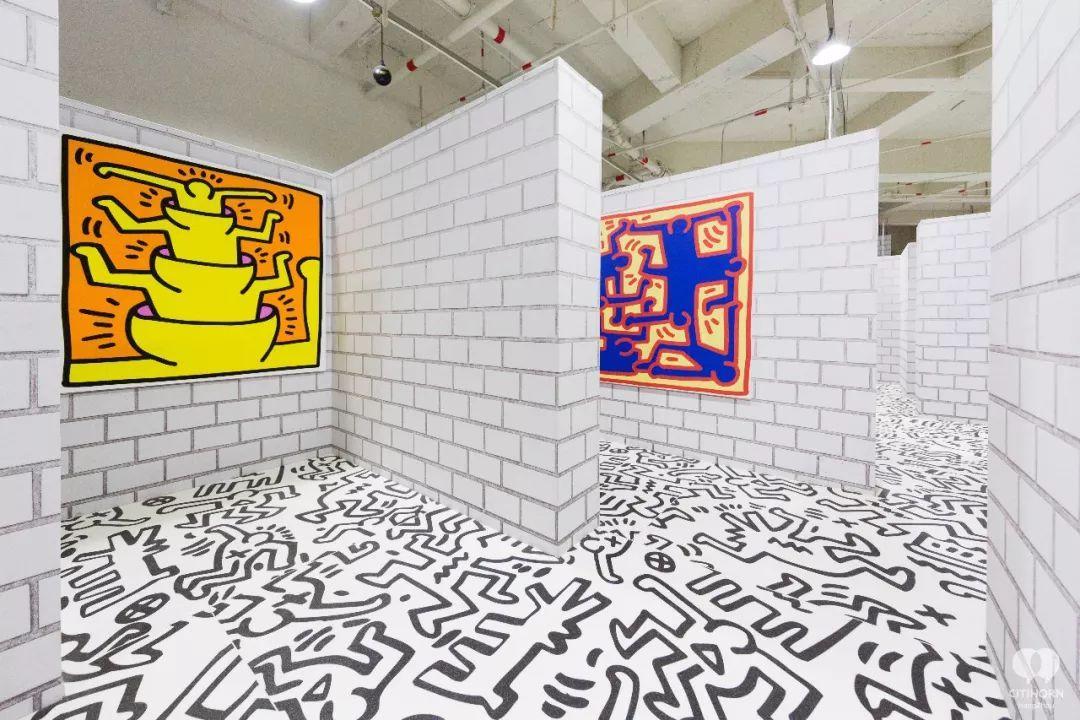 """大陆首展!涂鸦了全纽约墙的凯斯·哈林,终于""""涂""""到杭州了!(图55)"""