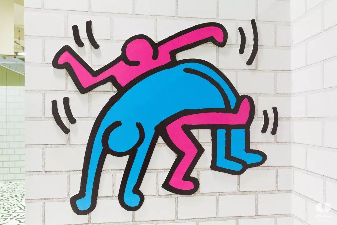 """大陆首展!涂鸦了全纽约墙的凯斯·哈林,终于""""涂""""到杭州了!(图28)"""