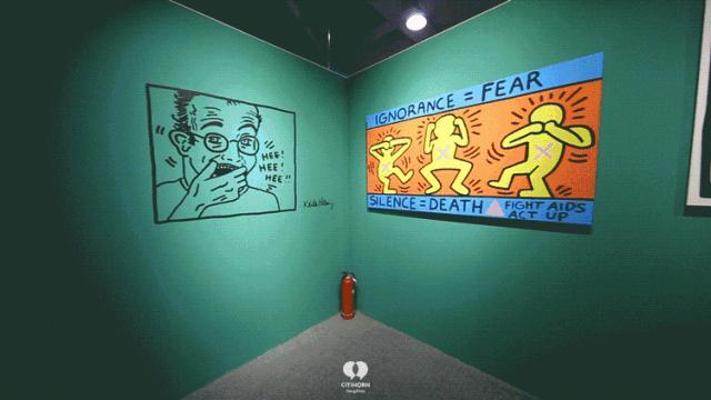"""大陆首展!涂鸦了全纽约墙的凯斯·哈林,终于""""涂""""到杭州了!(图13)"""