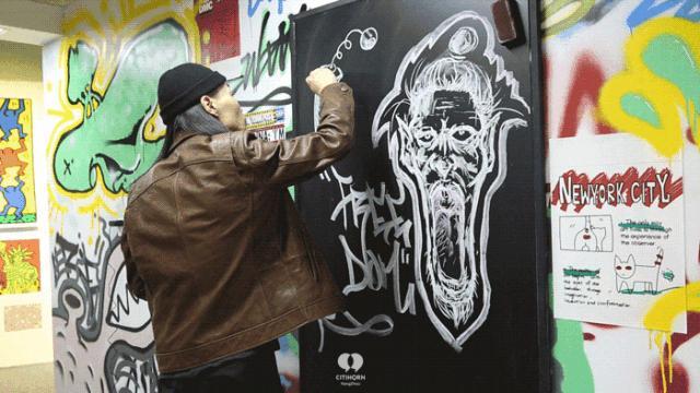 """大陆首展!涂鸦了全纽约墙的凯斯·哈林,终于""""涂""""到杭州了!(图24)"""