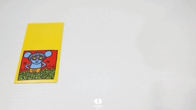 """大陆首展!涂鸦了全纽约墙的凯斯·哈林,终于""""涂""""到杭州了!(图52)"""
