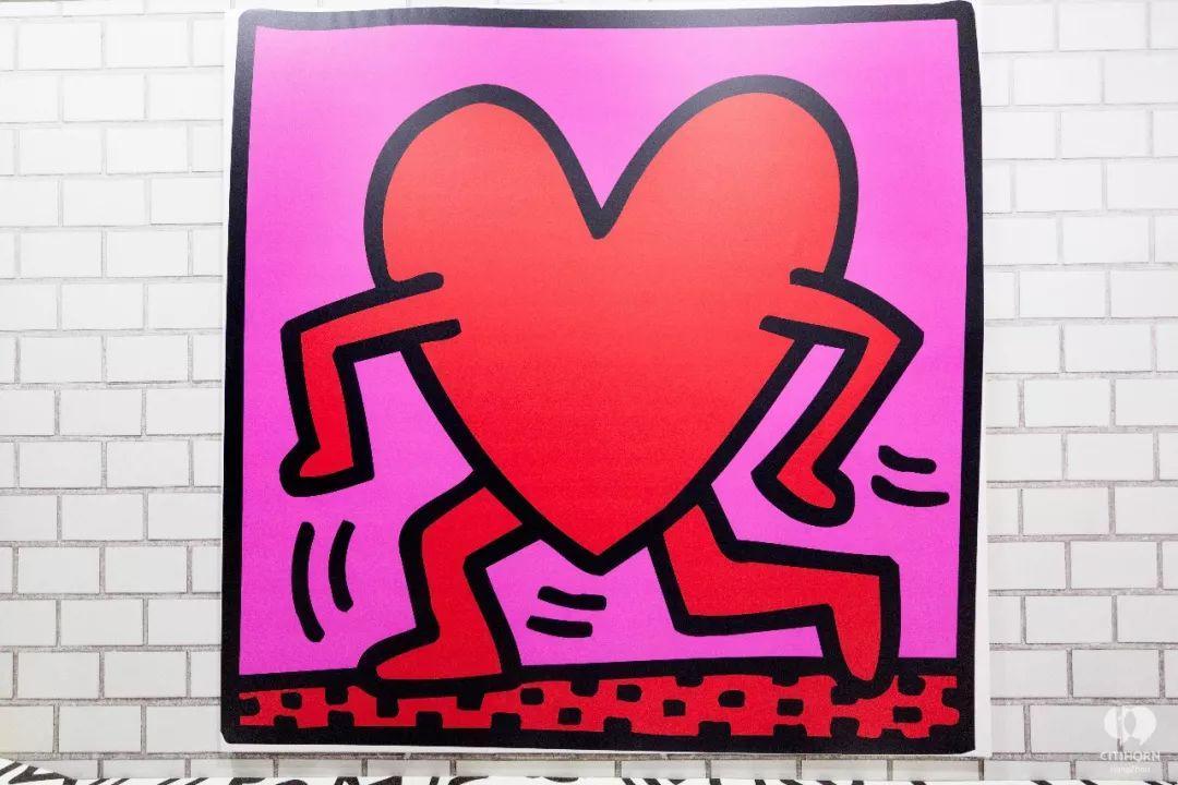 """大陆首展!涂鸦了全纽约墙的凯斯·哈林,终于""""涂""""到杭州了!(图32)"""