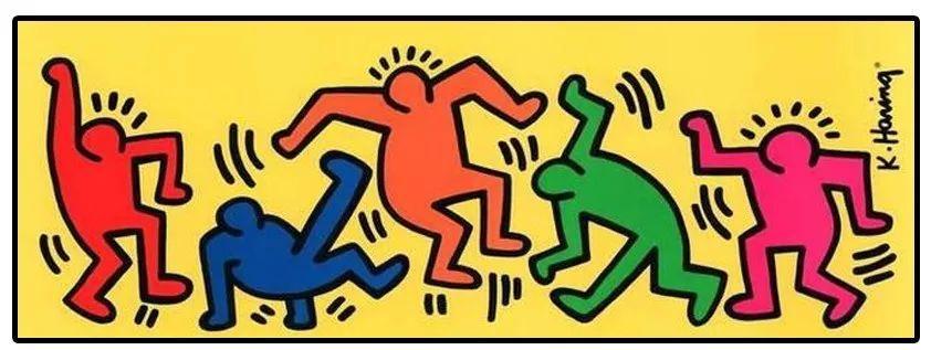 """大陆首展!涂鸦了全纽约墙的凯斯·哈林,终于""""涂""""到杭州了!(图43)"""