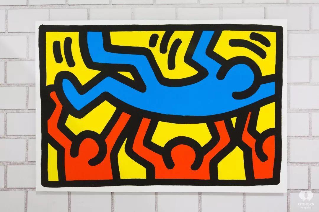 """大陆首展!涂鸦了全纽约墙的凯斯·哈林,终于""""涂""""到杭州了!(图29)"""