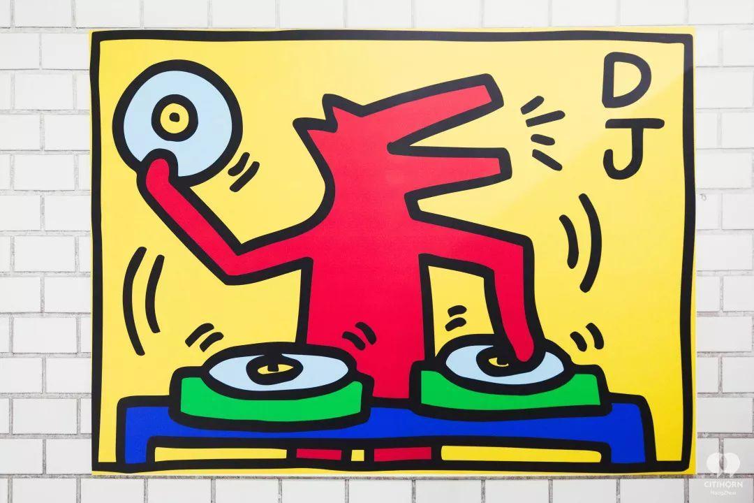 """大陆首展!涂鸦了全纽约墙的凯斯·哈林,终于""""涂""""到杭州了!(图30)"""