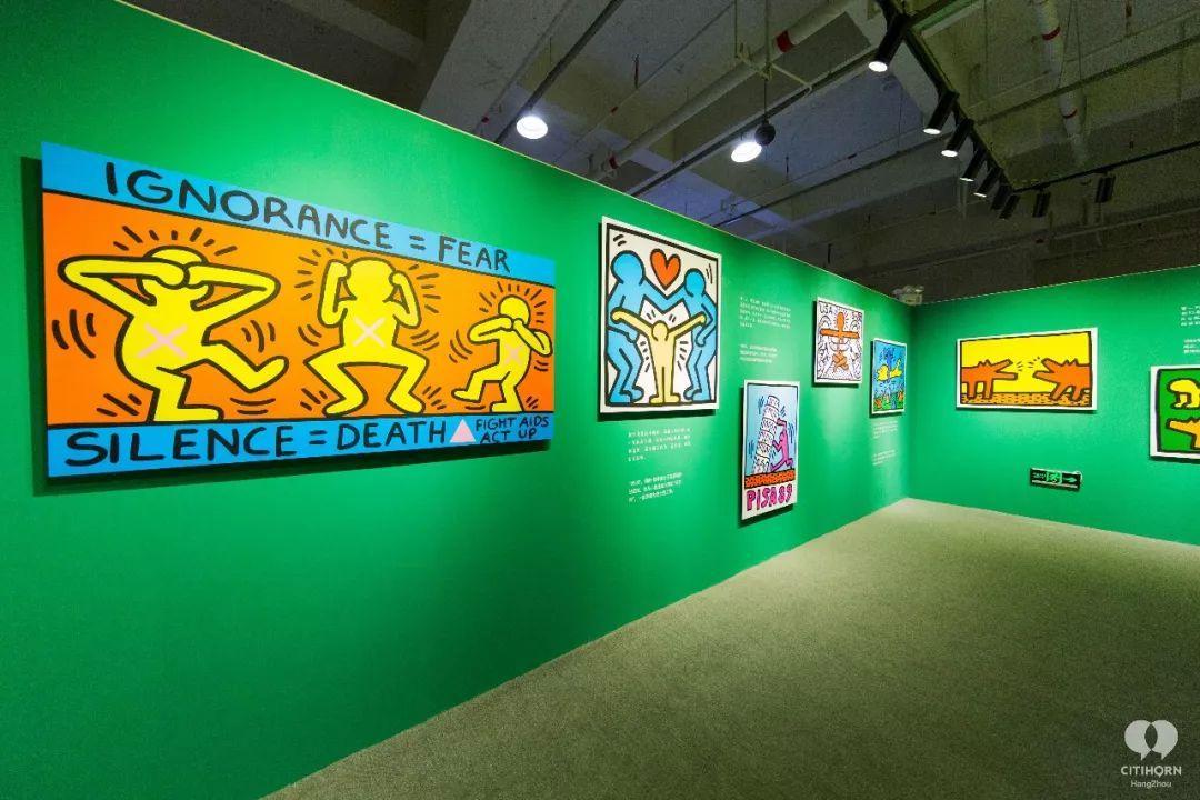 """大陆首展!涂鸦了全纽约墙的凯斯·哈林,终于""""涂""""到杭州了!(图4)"""