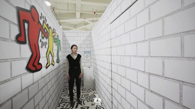 """大陆首展!涂鸦了全纽约墙的凯斯·哈林,终于""""涂""""到杭州了!(图36)"""