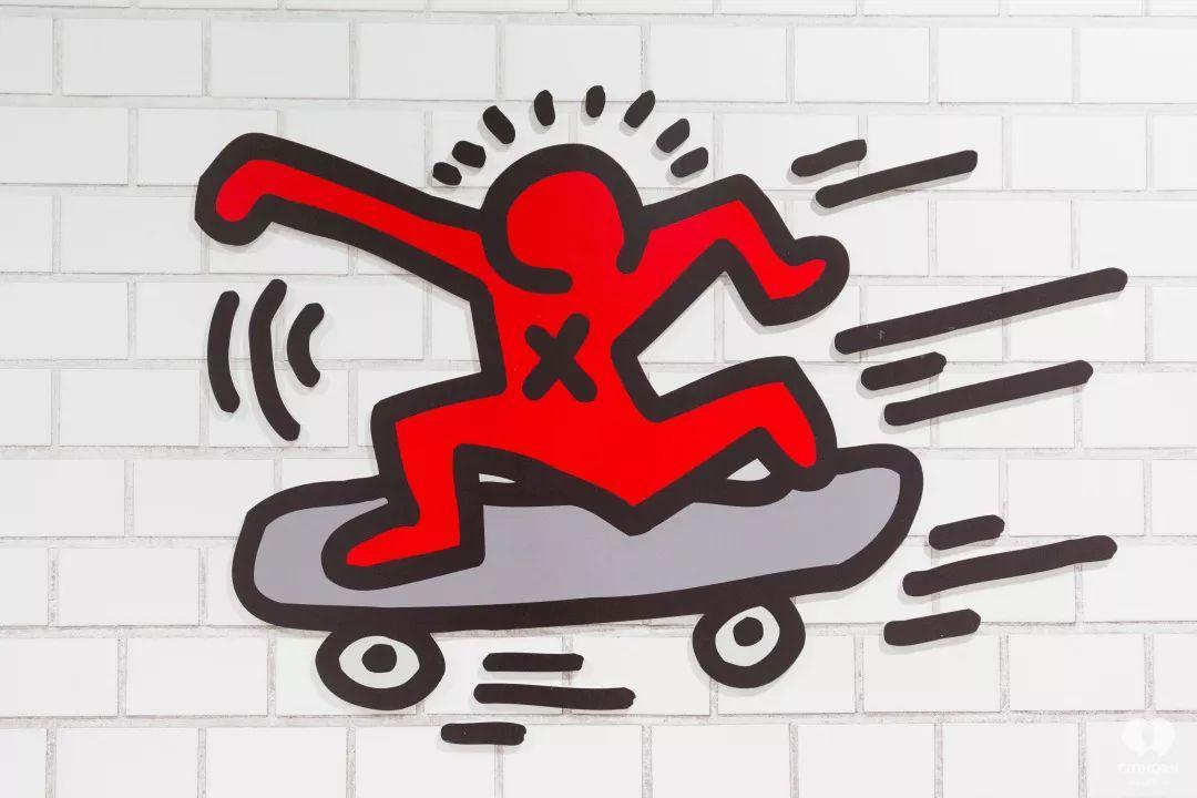 """大陆首展!涂鸦了全纽约墙的凯斯·哈林,终于""""涂""""到杭州了!(图27)"""