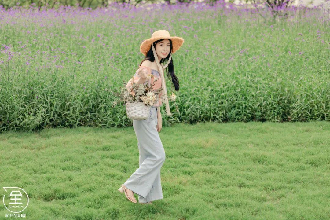 杭州の小普罗旺斯,隐藏在市区里的2000㎡超大紫色花海!小长假必去的打卡圣地!(图17)