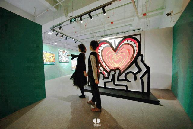 """大陆首展!涂鸦了全纽约墙的凯斯·哈林,终于""""涂""""到杭州了!(图16)"""