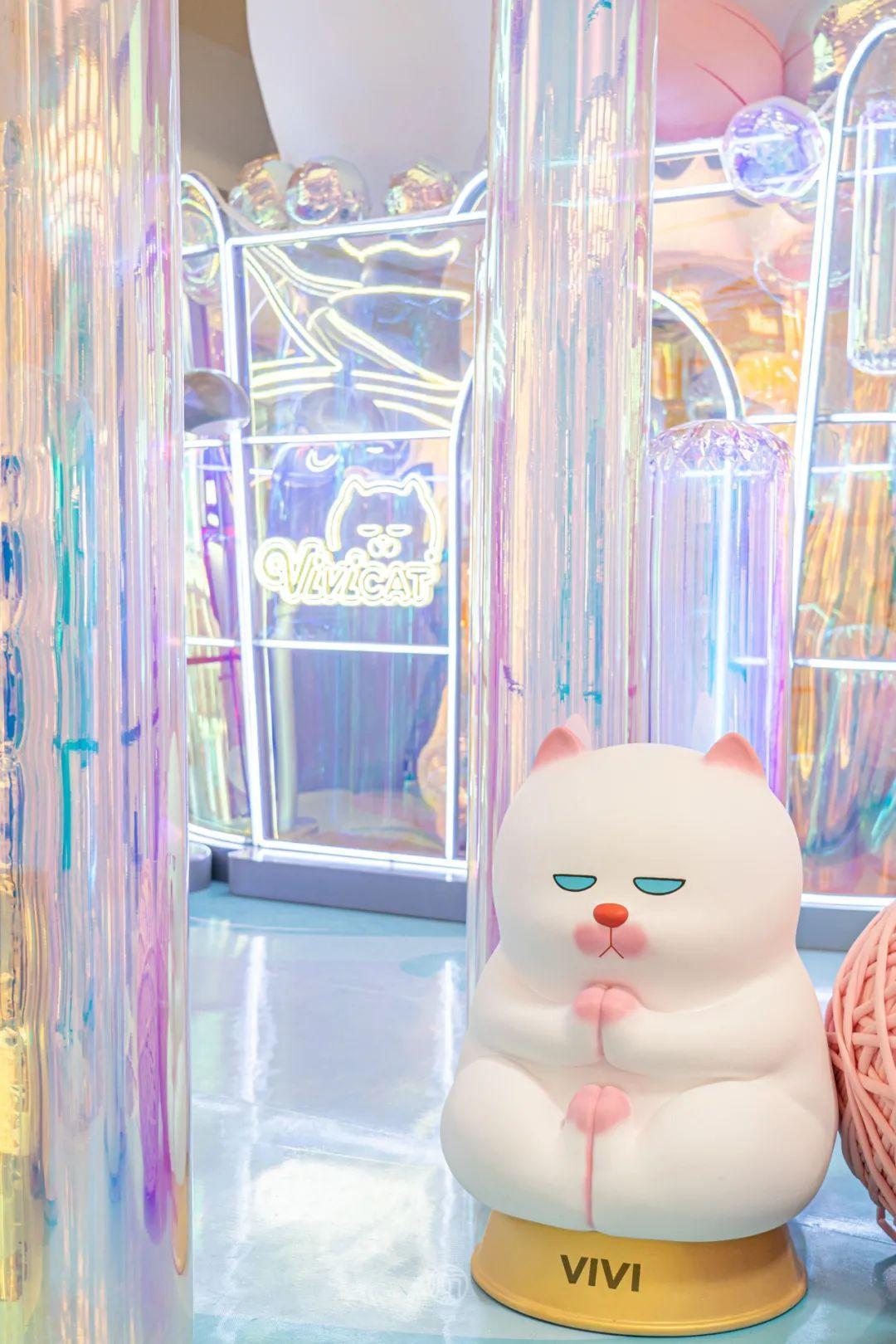 我的慵懒朋友ViViCat华东首展梦幻来袭!咪奥·潮玩集市趣味出摊!这个秋天,来福士陪你嗨!(图23)